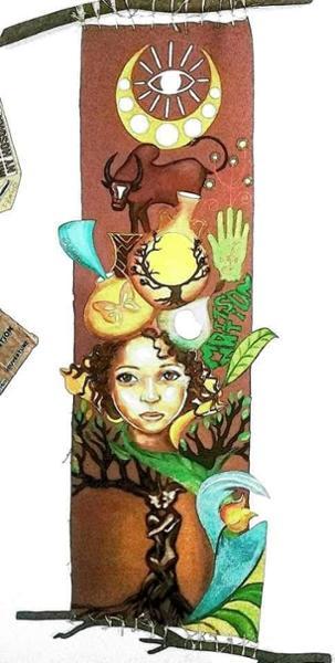 Yasmine Fidimalala, une artiste à la couleur de ses toiles