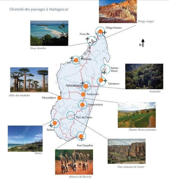 Madagascar, un territoire infiniment diversifié propice au développement touristique