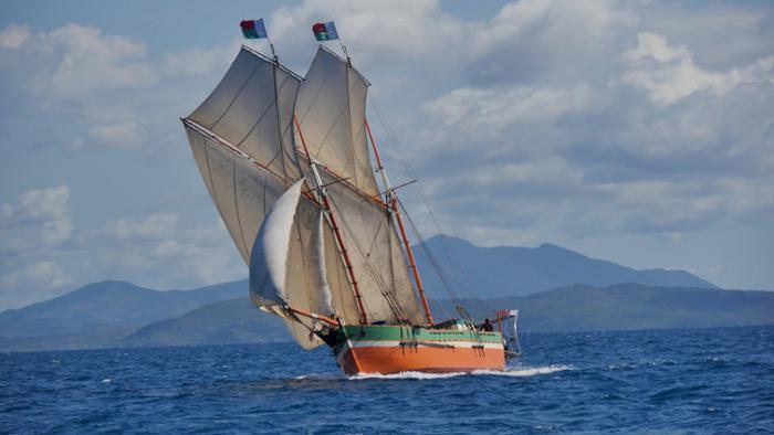 Un nouveau voyage : un grand rêve, à bord du Nofy Be