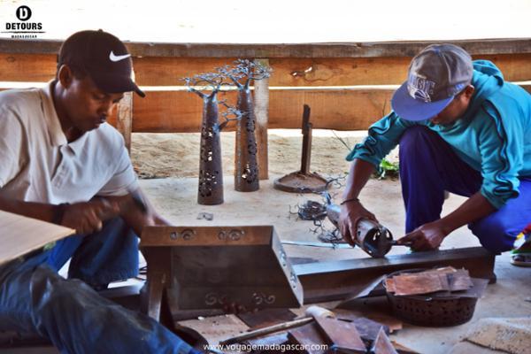 L'atelier de Ferronnerie de Violette et Dieudonné : une entreprise solidaire