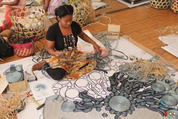 Gasy Rug : tapis en sisal made in Madagascar